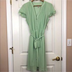 NWT Dress Barn Mint Green Flowy Dress